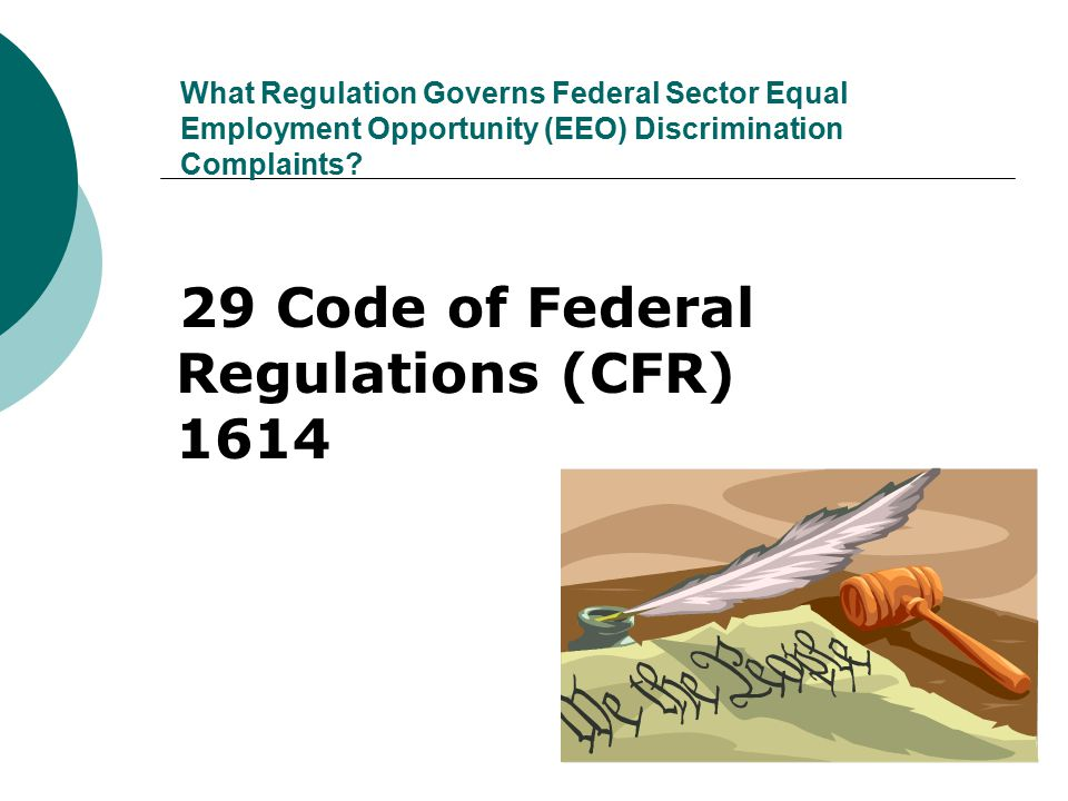 29 Code of Federal Regulations (CFR) 1614