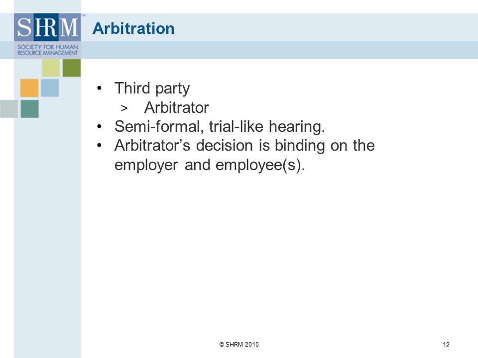 Semi-formal, trial-like hearing.