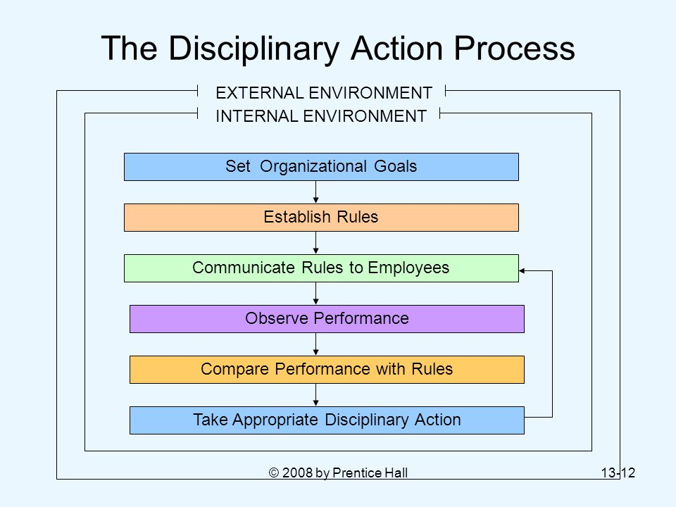 The Disciplinary Action Process