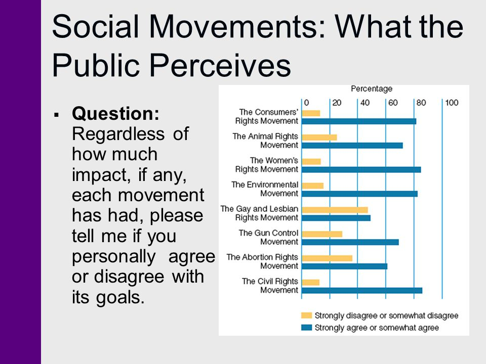 Social Movements: What the Public Perceives