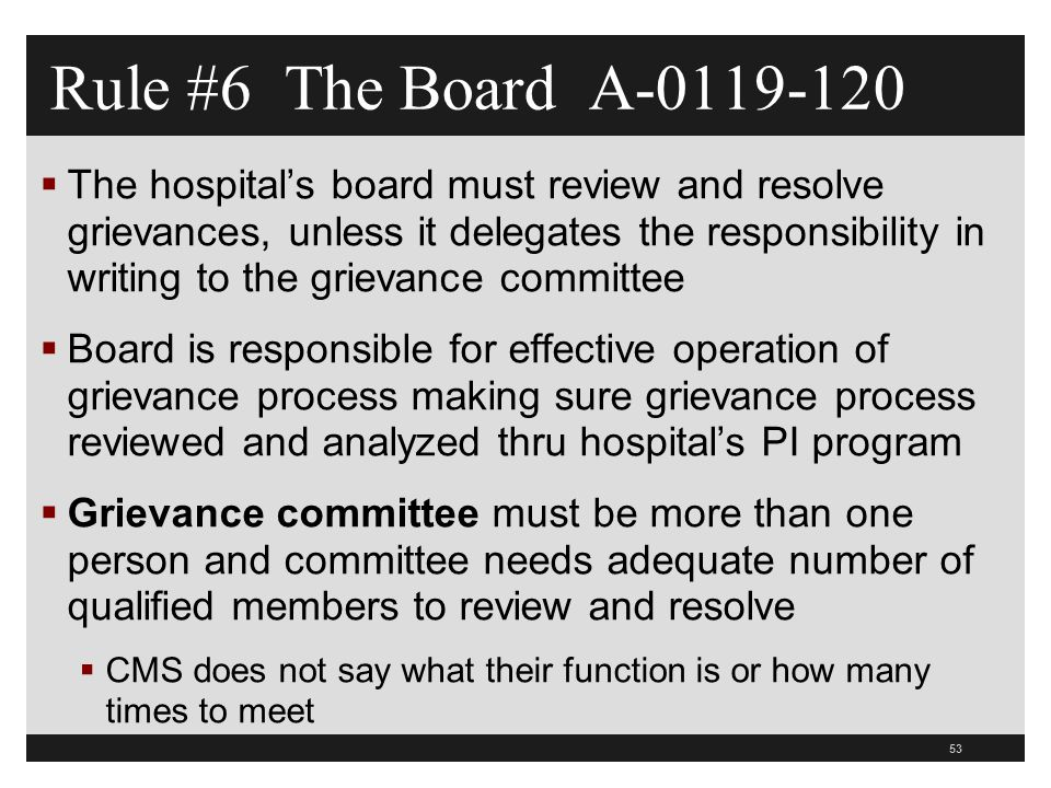 Rule #6 The Board A-0119-120