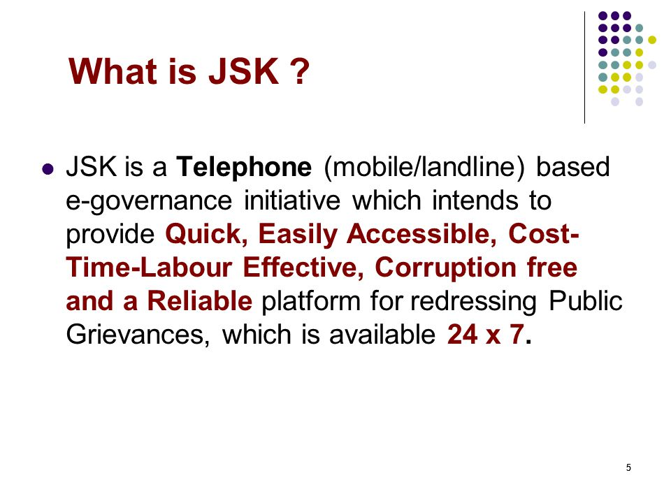 What is JSK