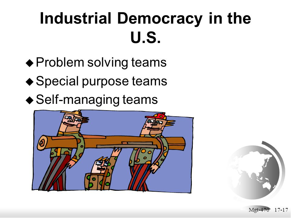 Industrial Democracy in the U.S.