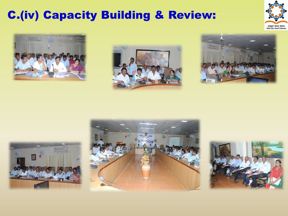 C.(iv) Capacity Building & Review: