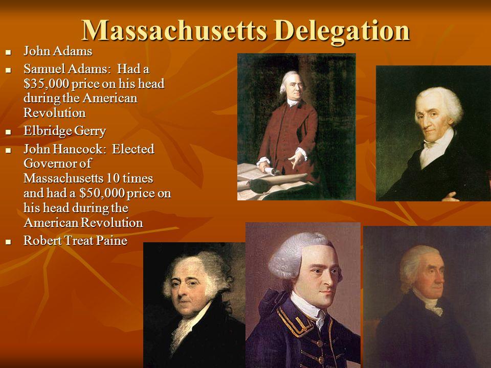 Massachusetts Delegation