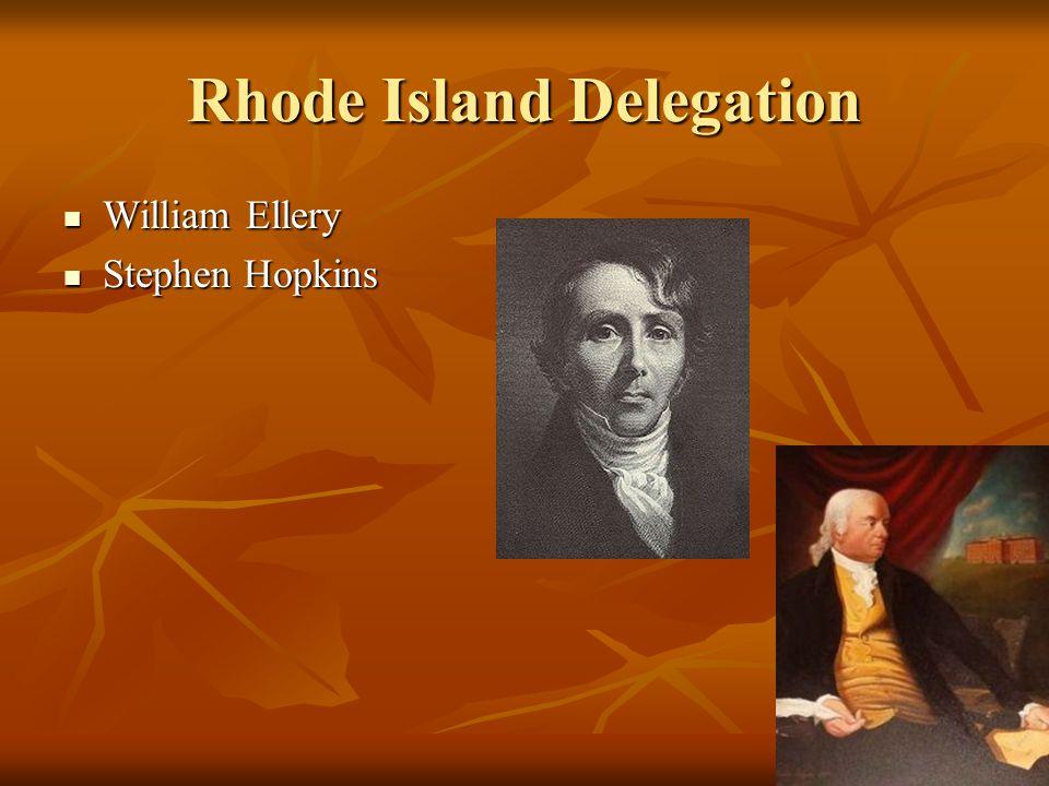 Rhode Island Delegation
