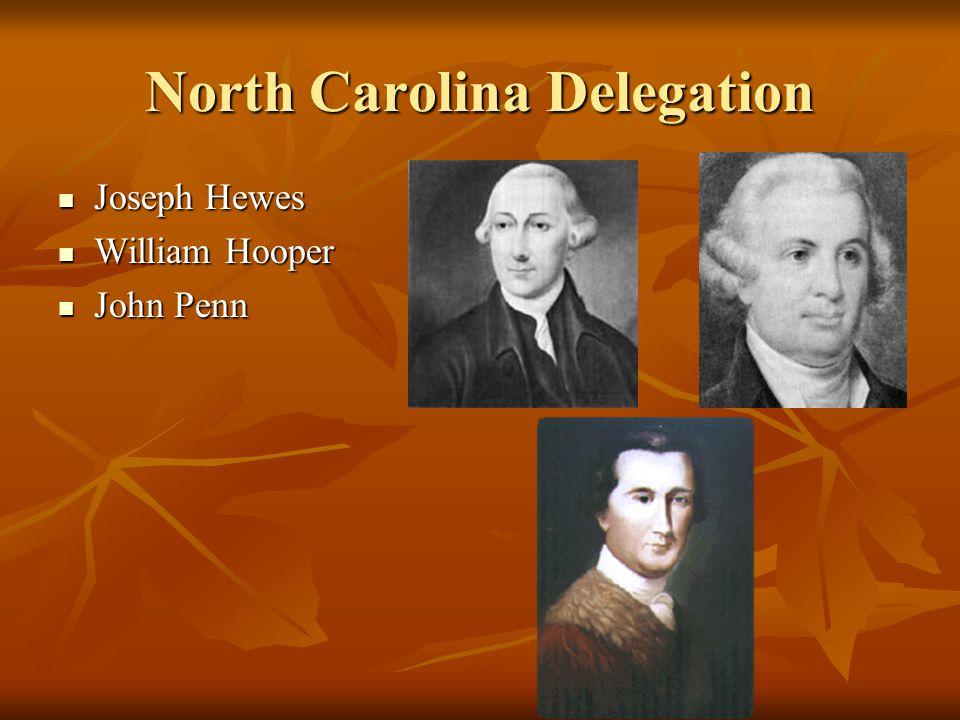North Carolina Delegation