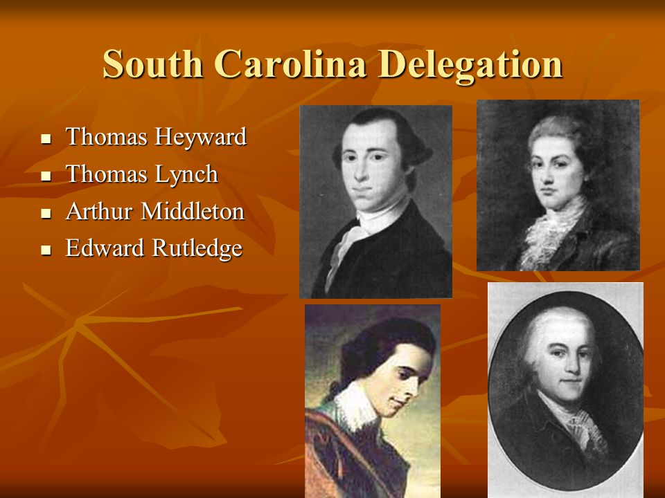 South Carolina Delegation