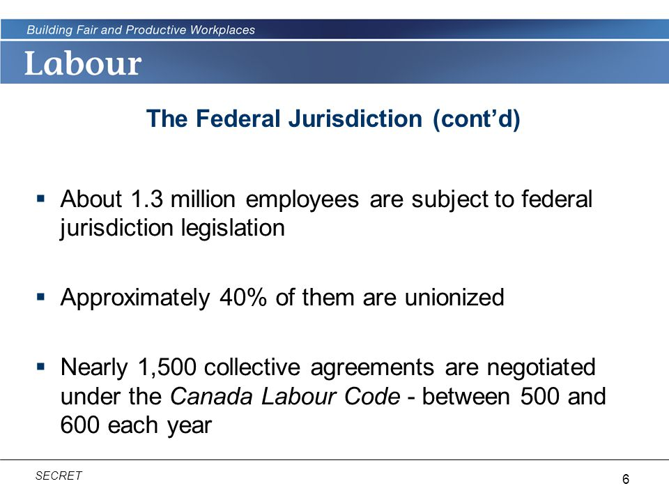 The Federal Jurisdiction (cont'd)