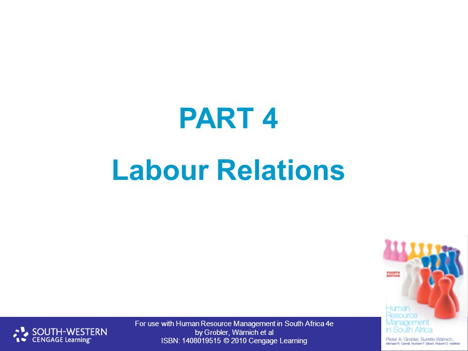 PART 4 Labour Relations 1