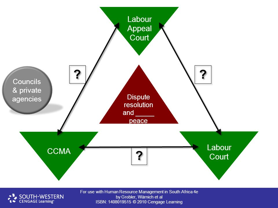 Labour Appeal Court Labour Court CCMA
