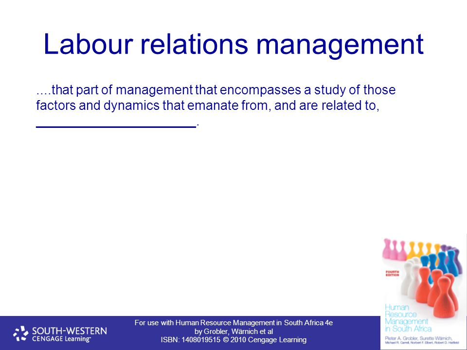 Labour relations management