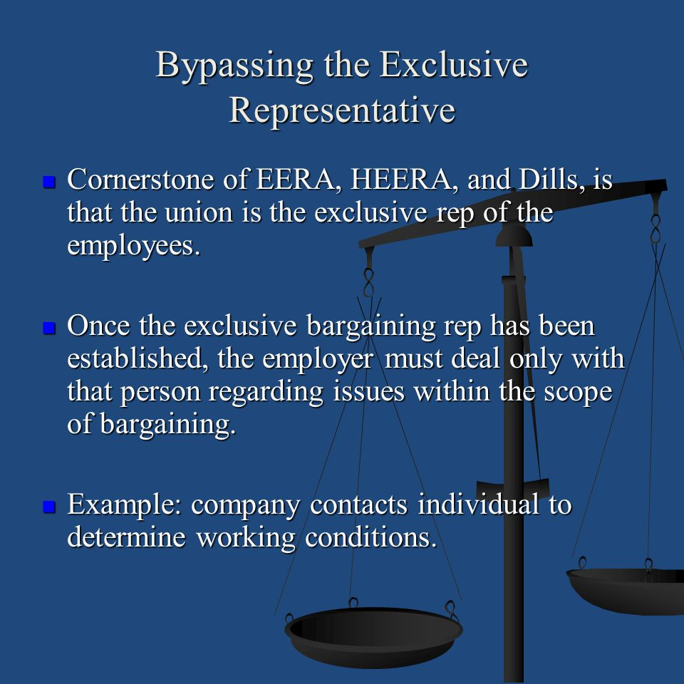 Bypassing the Exclusive Representative