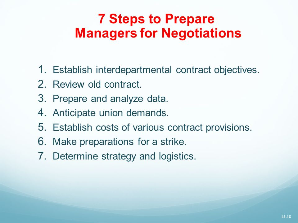 7 Steps to Prepare Managers for Negotiations