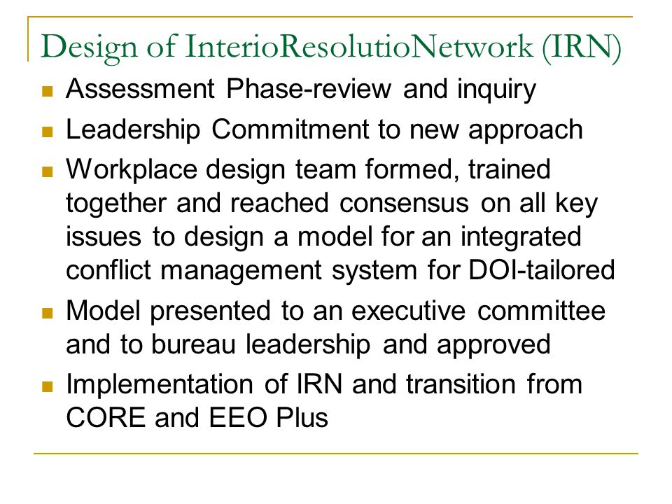 Design of InterioResolutioNetwork (IRN)