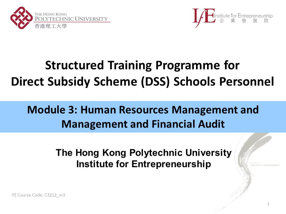 Structured Training Programme for