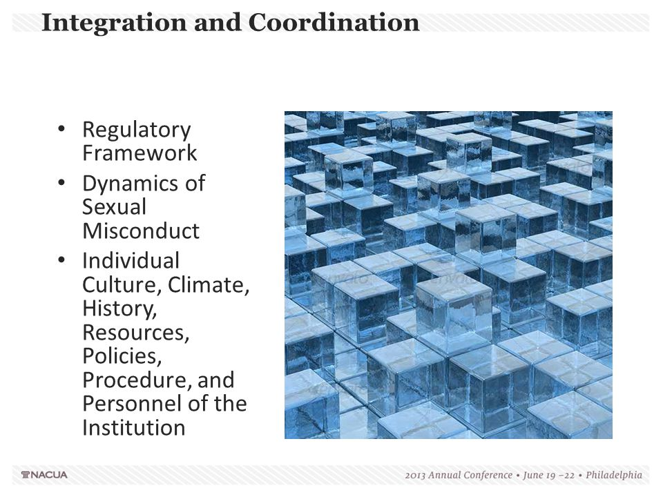 Integration and Coordination
