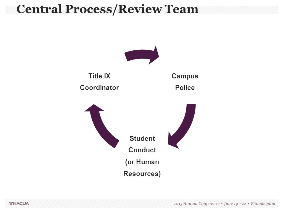 Central Process/Review Team