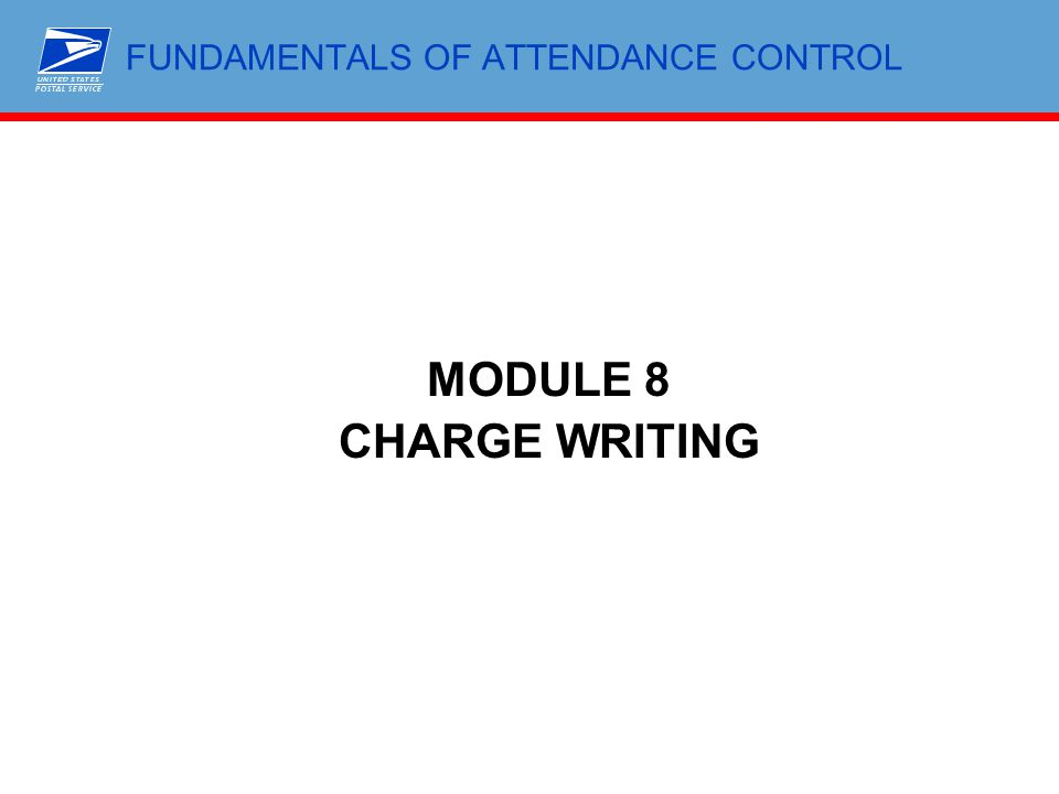 FUNDAMENTALS OF ATTENDANCE CONTROL