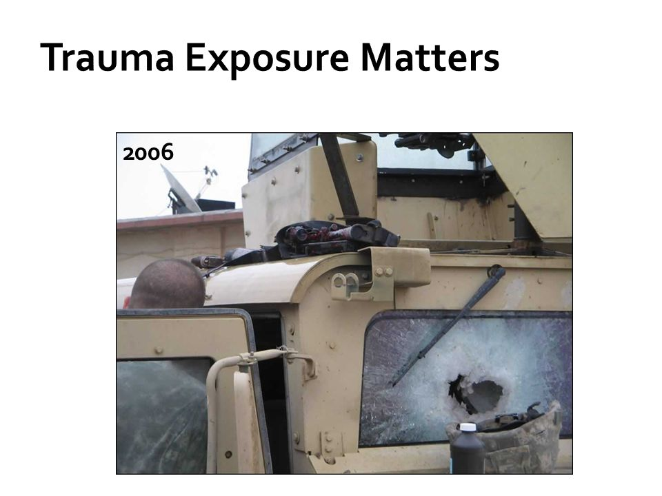 Trauma Exposure Matters