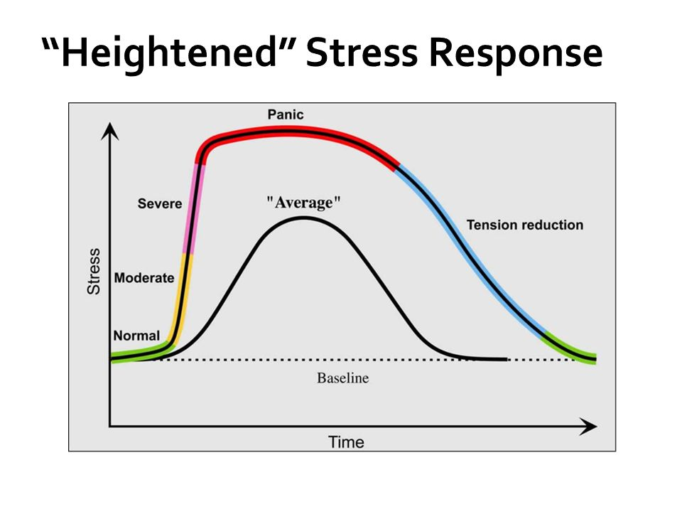 Heightened Stress Response