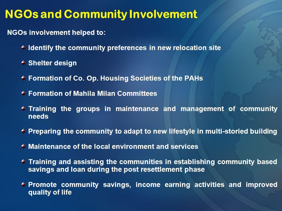 NGOs and Community Involvement