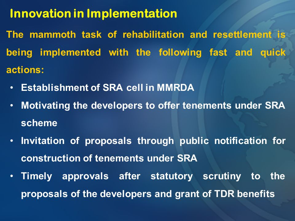 Innovation in Implementation