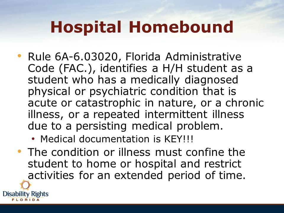 Hospital Homebound
