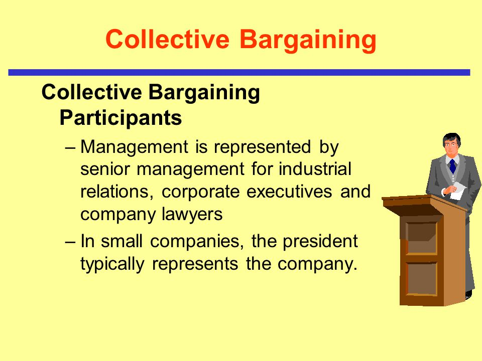Bargaining / Contracts