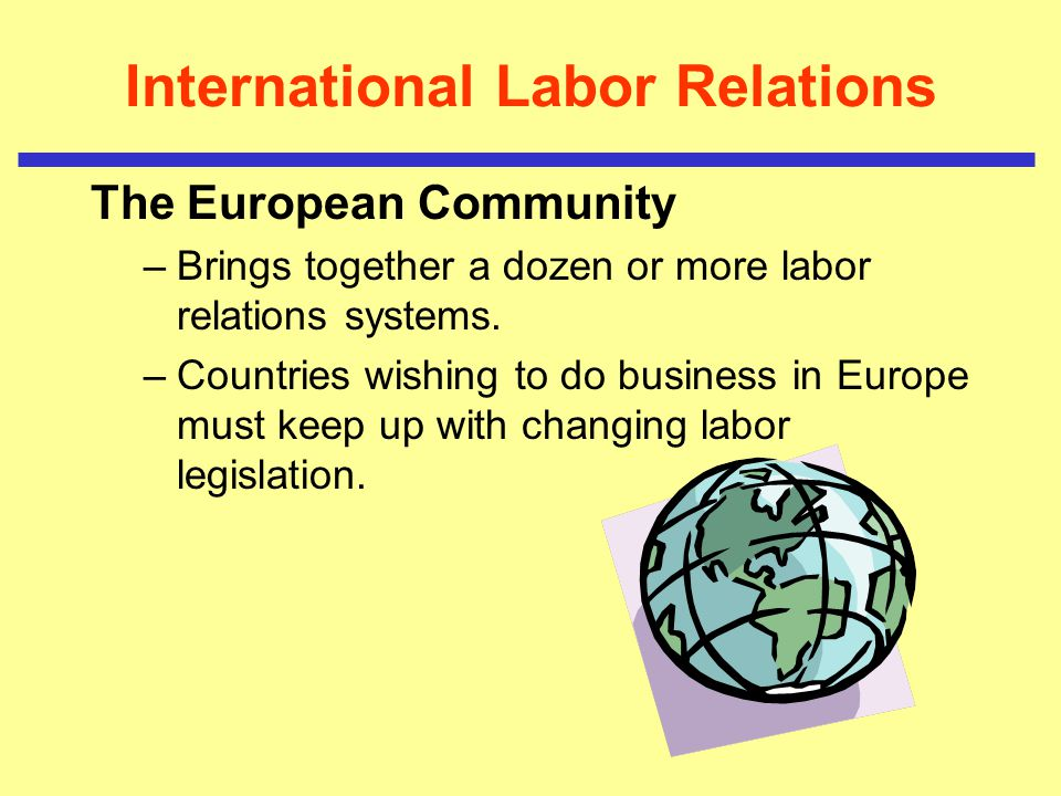 International Labor Relations