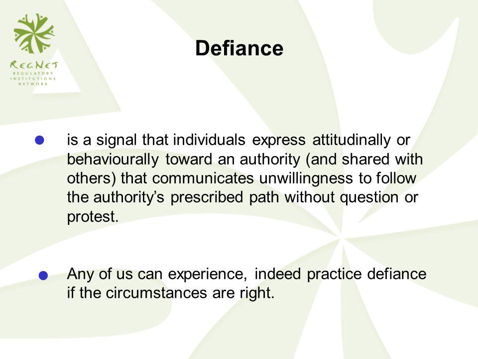 Defiance ●