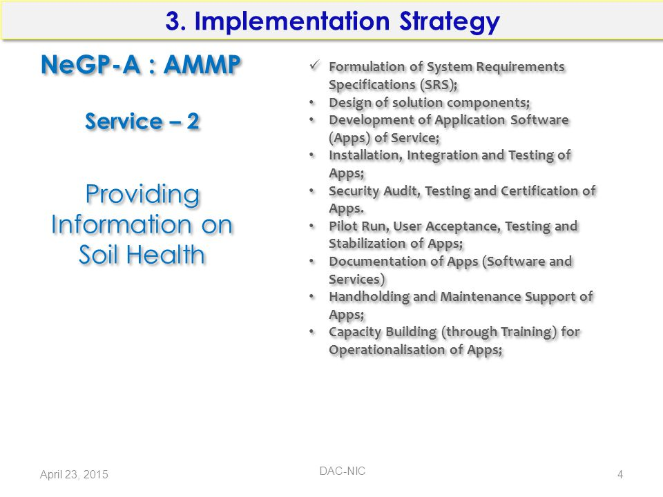 3. Implementation Strategy