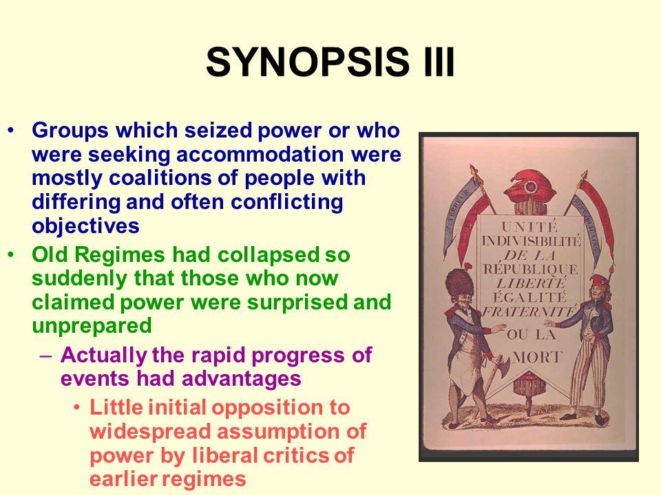 SYNOPSIS III