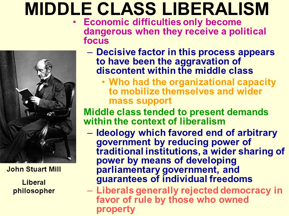 MIDDLE CLASS LIBERALISM