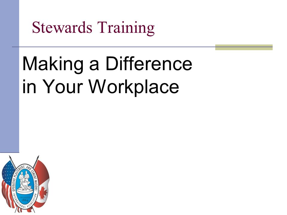 Making a Difference in Your Workplace