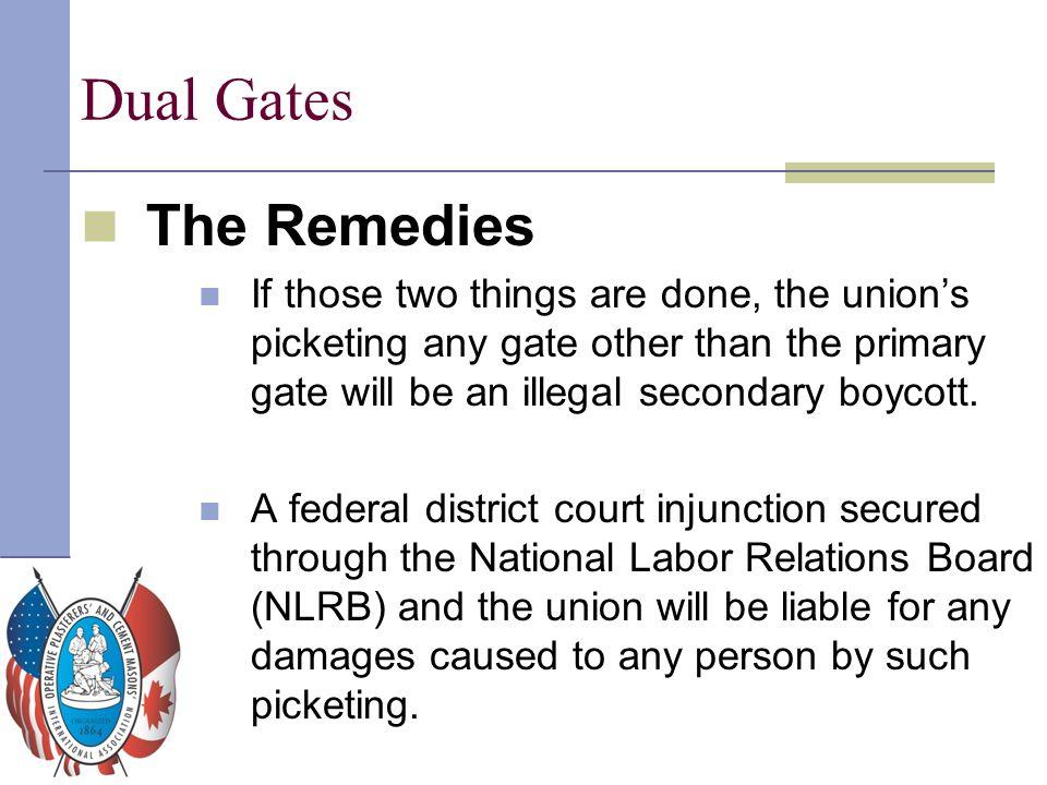Dual Gates The Remedies