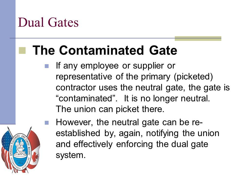 Dual Gates The Contaminated Gate