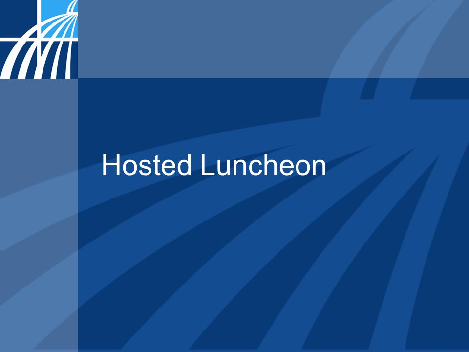 Hosted Luncheon