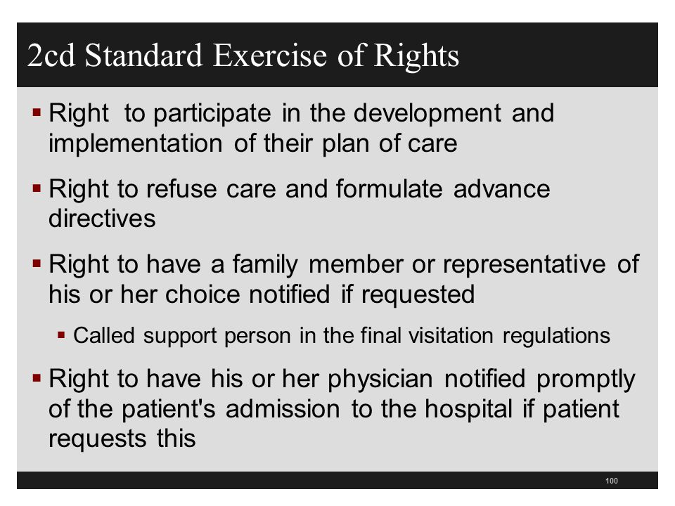 2cd Standard Exercise of Rights