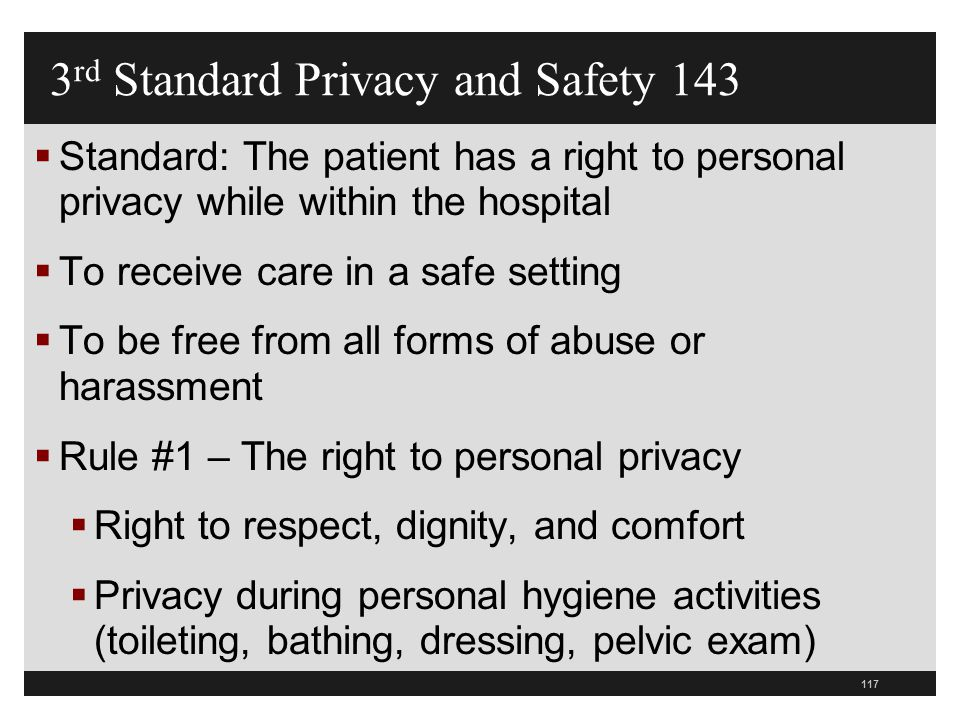 3rd Standard Privacy and Safety 143