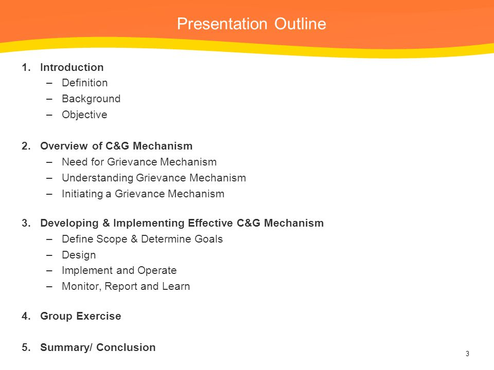 Presentation Outline Introduction Definition Background Objective