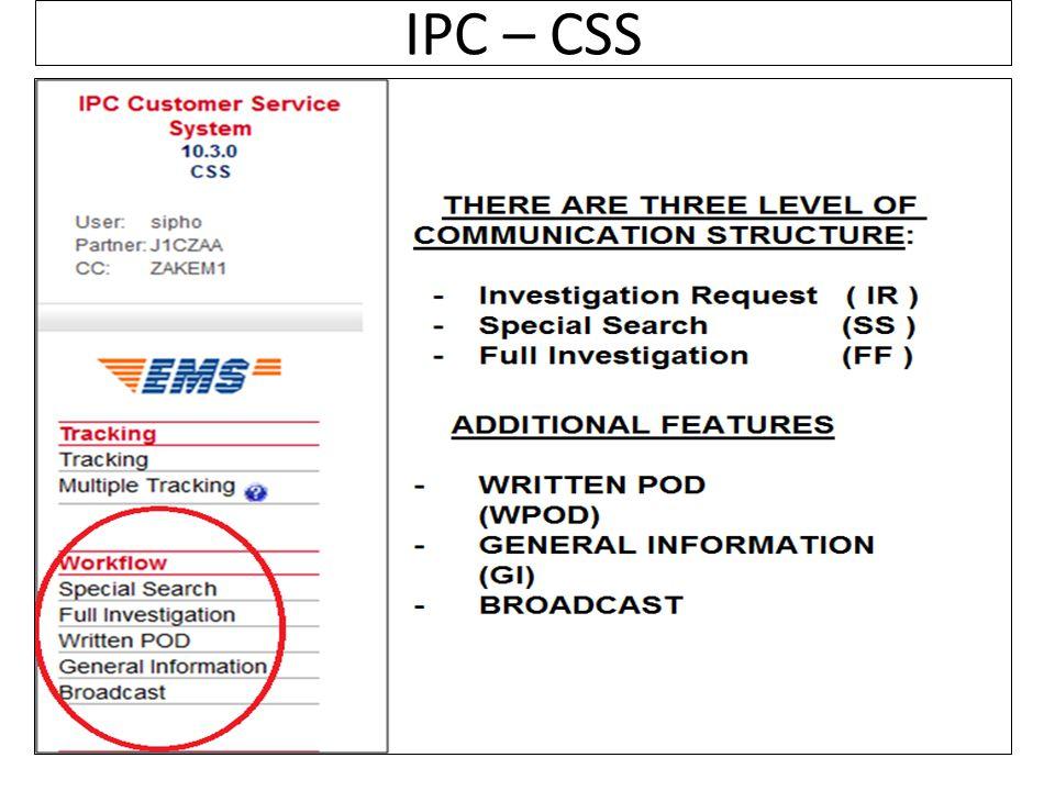 IPC – CSS