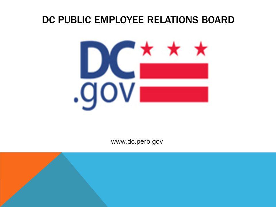 dC public employee relations board