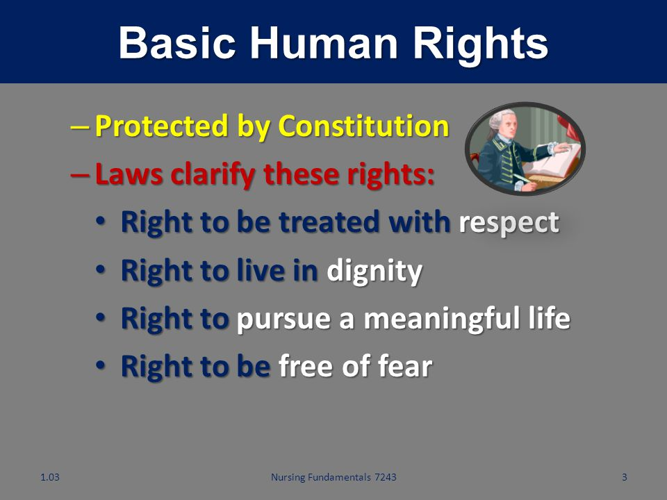 Basic Human Rights Protected by Constitution