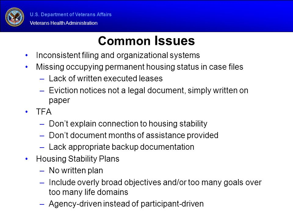 Common Issues Inconsistent filing and organizational systems