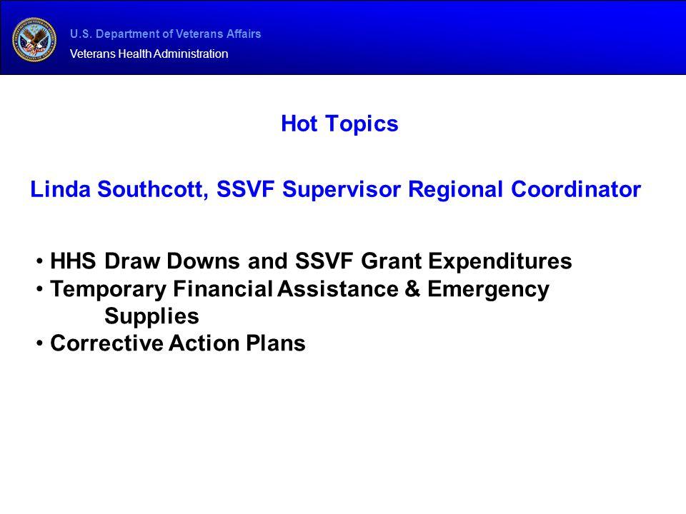 Linda Southcott, SSVF Supervisor Regional Coordinator