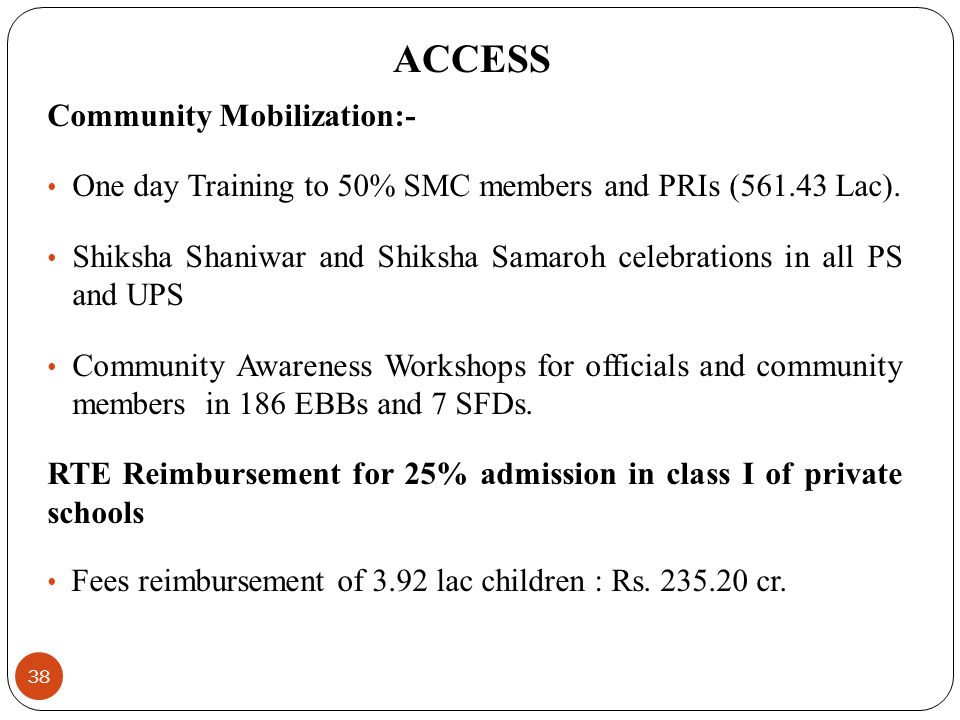 ACCESS Community Mobilization:-