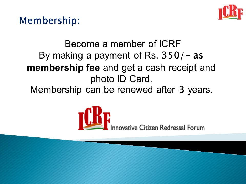 Membership can be renewed after 3 years.
