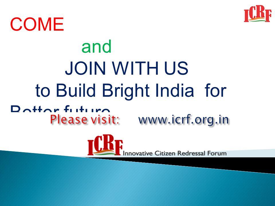 Please visit: www.icrf.org.in