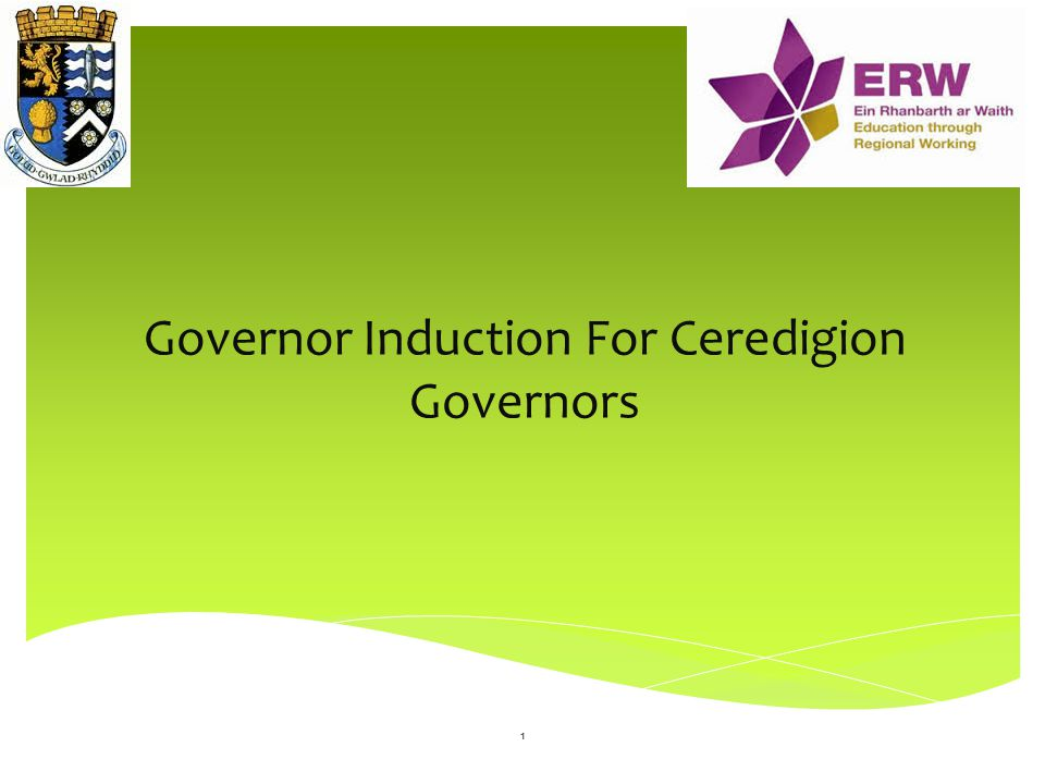 Governor Induction For Ceredigion Governors
